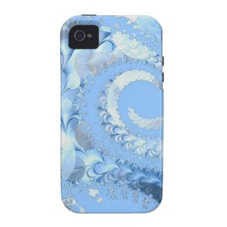 fractal-94223_1920 fractal spiral abstract backgro iPhone 4 cases
