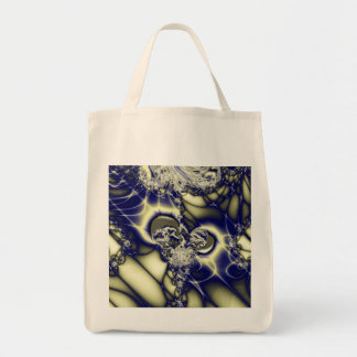 Fractal 95,Organic Grocery Tote Grocery Tote Bag