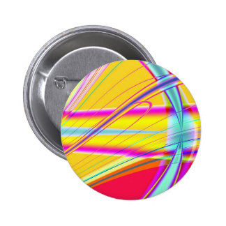 Fractal Abstract 061012e 6 Cm Round Badge