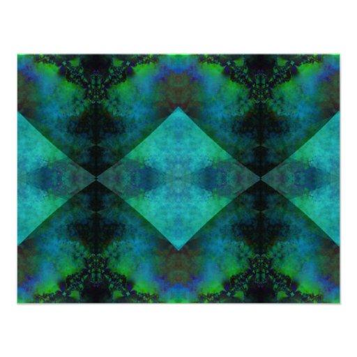 Fractal Abstract Custom Invite