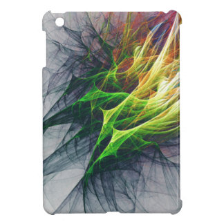 Fractal abstract pattern art in 3d iPad mini cases