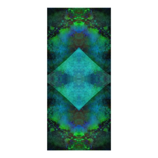 Fractal Abstract Rack Card Template
