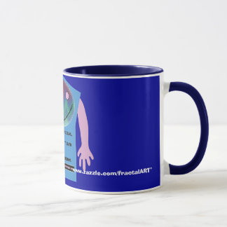 fractal addiction anagrams mug # 4