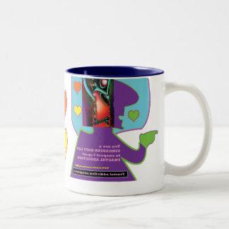 fractal addiction anagrams mug # 5