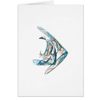 Fractal - Angelfish Card