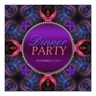 Fractal Angels Dinner Party Special Invitation