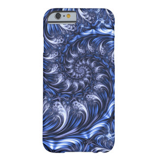 Fractal Apple/Android Case - Blue Endless Spiral