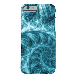 Fractal Apple/Android Case - Bright Blue Spiral