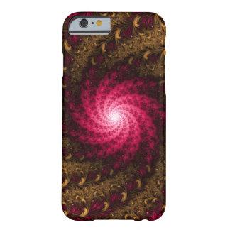 Fractal Apple/Android Case - Golden Pink Spiral