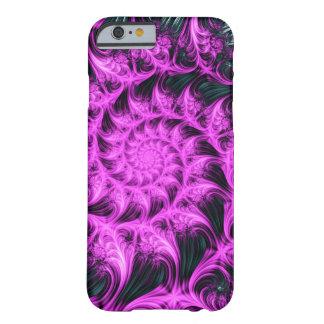 Fractal Apple/Android Case - Vibrant Pink Spiral