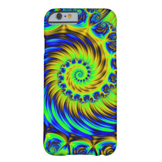 Fractal Apple/Android Case- Vibrant Thermal Spiral Barely There iPhone 6 Case