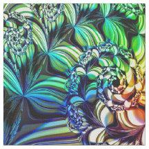 Fractal Art 56 Custom Fabric