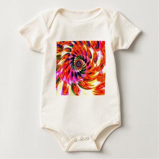 fractal art baby bodysuit