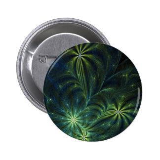 Fractal Art Button Weed
