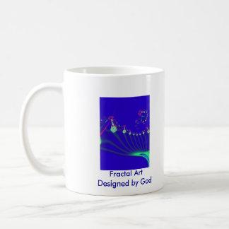 Fractal Art Christmas Mug