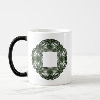 Fractal Art Christmas Wreath Magic Mug