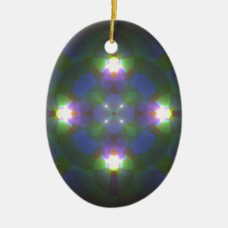 Fractal Art Christmas Ornaments