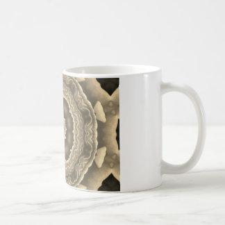 Fractal Art Design Basic White Mug