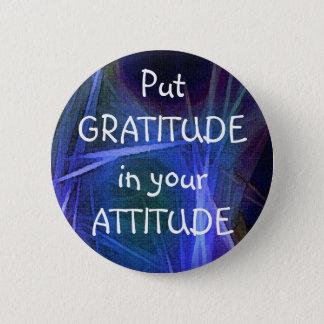 FRACTAL ART GRATITUDE Button