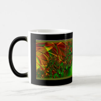 Fractal Art Green Garden Magic Mug