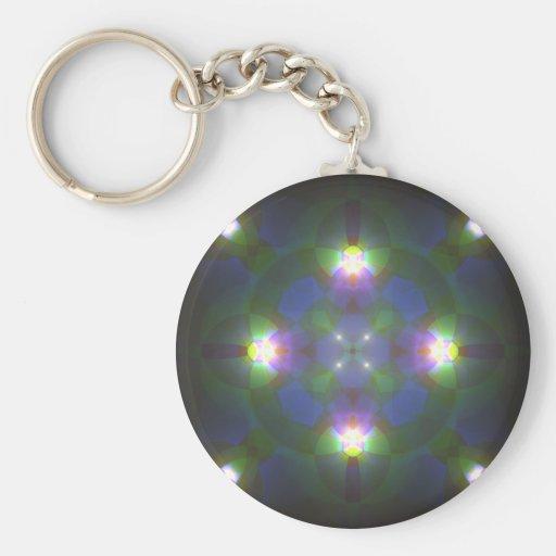 Fractal Art Keychain