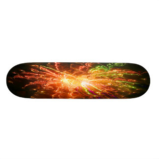 Fractal Art Skate Board