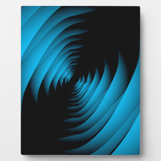 Fractal background forming depth photo plaques