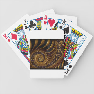fractal bicycle playing cards