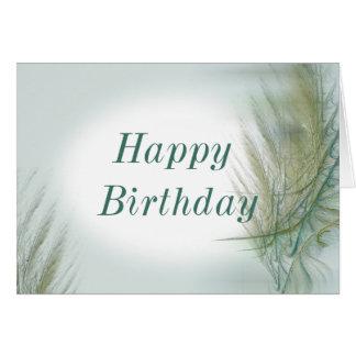 Fractal Birthday Card