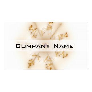 Fractal Brown Star Pack Of Standard Business Cards