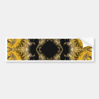 Fractal Bumper Sticker