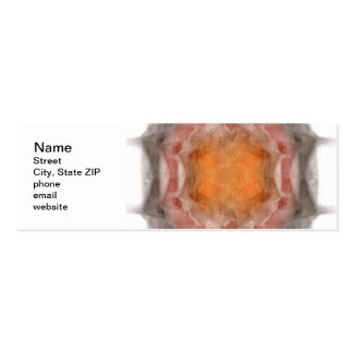Fractal Pack Of Skinny Business Cards