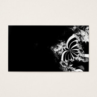 Fractal butterfly business card