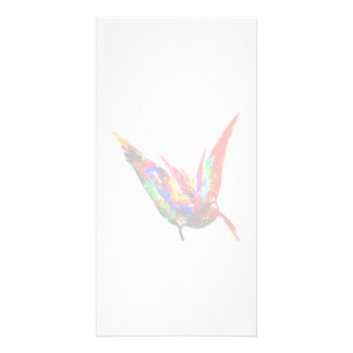 Fractal - Butterfly Flying Photo Cards