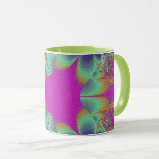 Fractal Cactus Bloom Mug