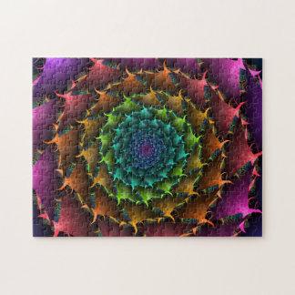 Fractal Cactus Rose Jigsaw Puzzle