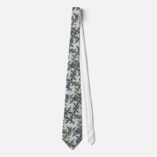 Fractal Camouflage - Winter Tie