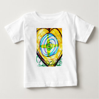 Fractal Cartoids Crosses and the Spiral Band by Lu Baby T-Shirt