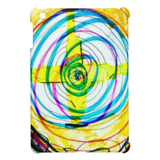 Fractal Cartoids Crosses and the Spiral Band by Lu iPad Mini Covers