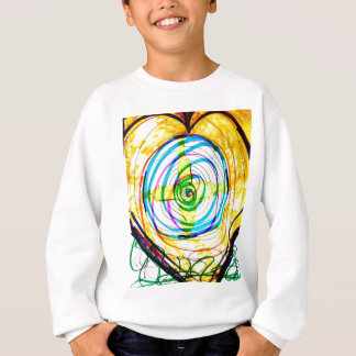 Fractal Cartoids Crosses and the Spiral Band by Lu Sweatshirt