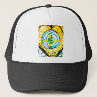 Fractal Cartoids Crosses and the Spiral Band by Lu Trucker Hat