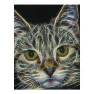Fractal Cat 21.5 Cm X 28 Cm Flyer