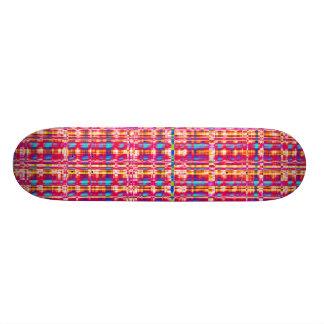 Fractal Check Skate Board Deck