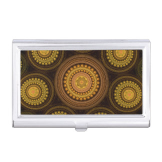 Fractal Circles Business Card Holder