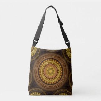 Fractal Circles Crossbody Bag