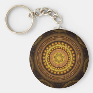 Fractal Circles Key Ring