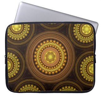 Fractal Circles Laptop Sleeve