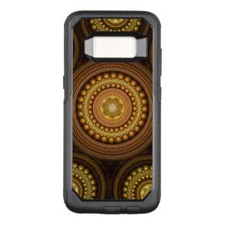 Fractal Circles OtterBox Commuter Samsung Galaxy S8 Case