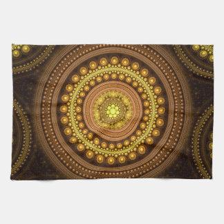Fractal Circles Tea Towel