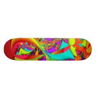 Fractal Color Me Bright 21.6 Cm Skateboard Deck